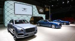 添越Bentayga V8领衔 宾利汽车携重磅车型亮相2018年北京国际车展